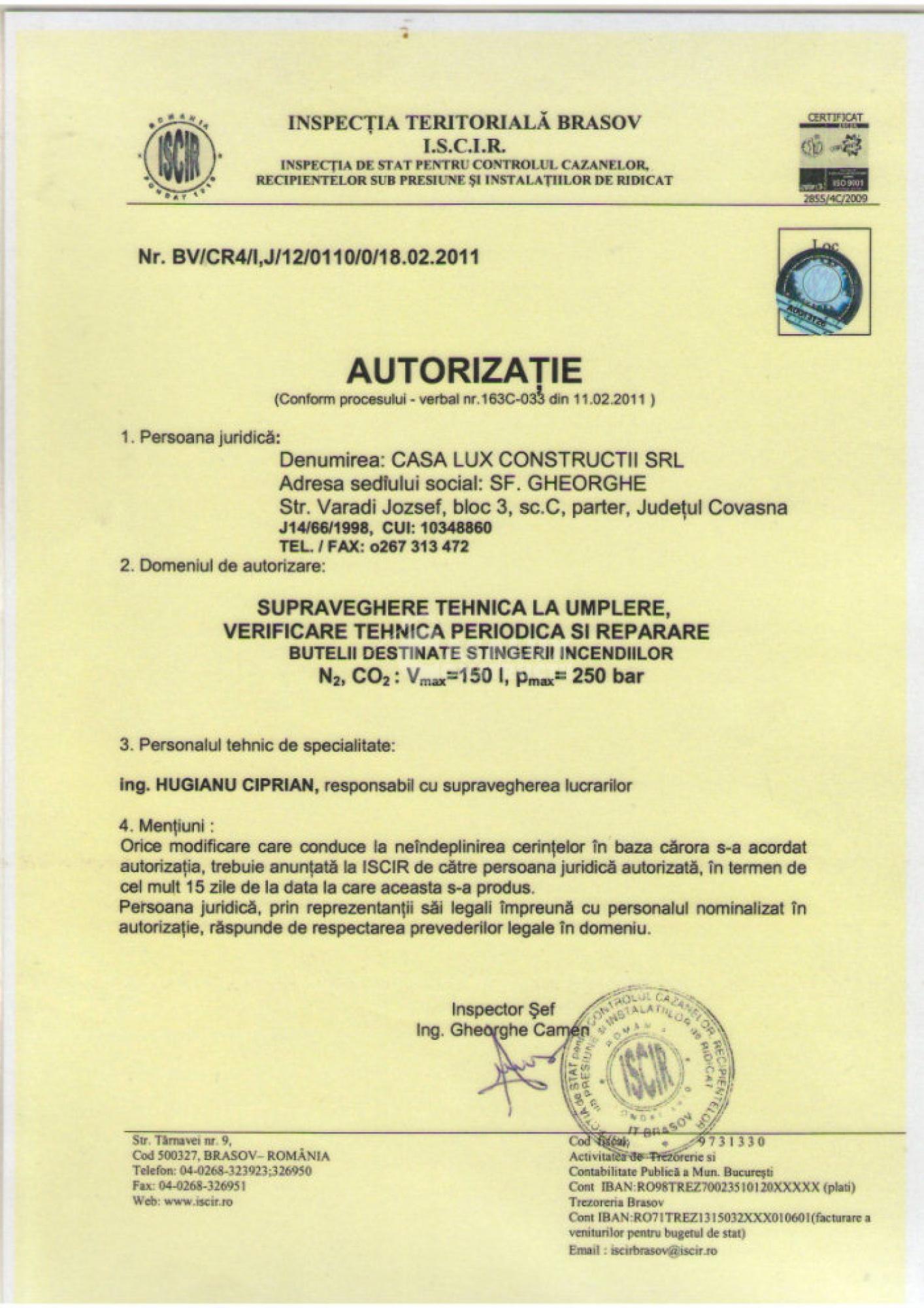 Autorizări 4