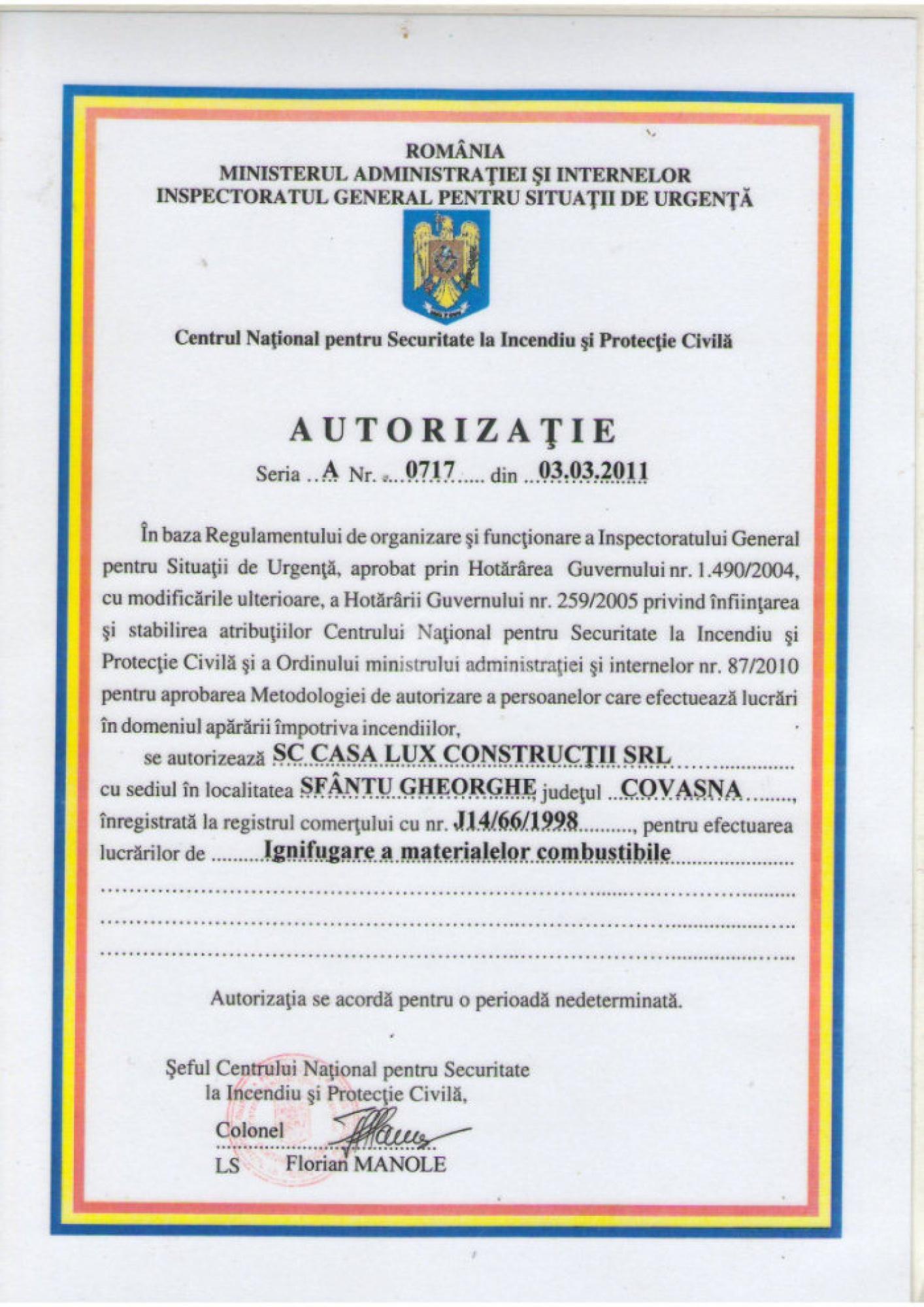 Autorizări 13